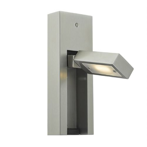 Mylie Adjustable Wall Bracket Satin Chrome LED (Class 2 Double Insulated) BXMYL7146-17